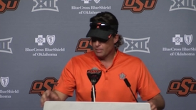 Thumbnail for entry OSU/BSU Football Postgame: Mike Gundy Speaks to the Media