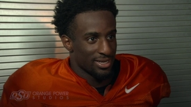 Thumbnail for entry OSU/USA Football Preview: Justice Hill Speaks to the Media