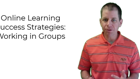 Thumbnail for entry Online Learning Success - Groups