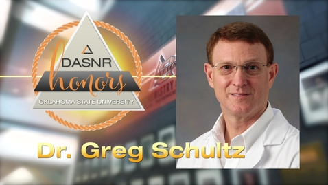 Thumbnail for entry 2018 DASNR Honors-Gregory Schultz