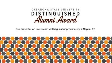 Thumbnail for entry 2021 Distinguished Alumni Awards