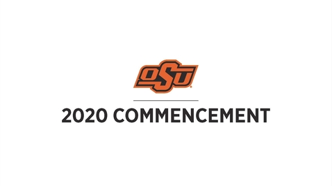 Thumbnail for entry 2020 Commencement:  College of Education & Human Sciences