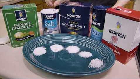 Thumbnail for entry Salt Alternatives in Canning/Pickling
