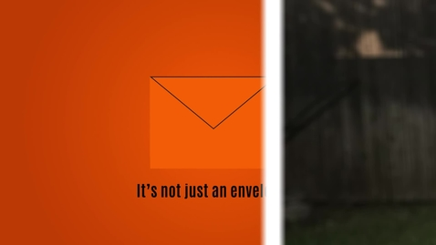 Thumbnail for entry More Than An Orange Envelope