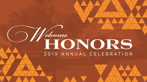 Thumbnail for entry 2019 Division of Agriculture Honors Awards