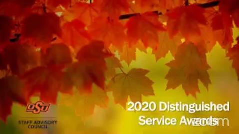 Thumbnail for entry REBROADCAST:  Staff Advisory Distinguished Service Awards