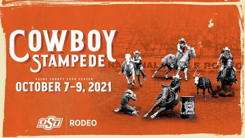 Thumbnail for entry 2021 Cowboy Stampede Rodeo:  Thursday Performance