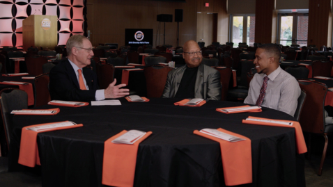 Thumbnail for entry Inside OSU With  Burns Hargis:  OSU Diversity Hall of Fame
