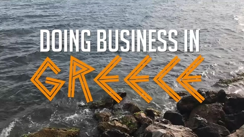 Thumbnail for entry Doing Business in Greece - CAGLE Study Abroad