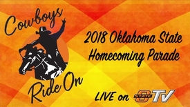 Thumbnail for entry REBROADCAST:  2018 Sea of Orange Homecoming Parade