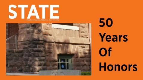 Thumbnail for entry STATE Magazine:  50 Years of Honors
