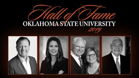 Thumbnail for entry REBROADCAST:  2019 Oklahoma State University Hall of Fame