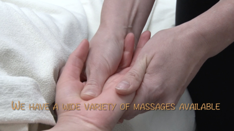 Thumbnail for entry 2018 Spring Massage Promo
