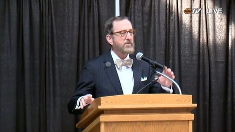Thumbnail for entry REBROADCAST: Kamm Lecture in Higher Education February 21, 2019
