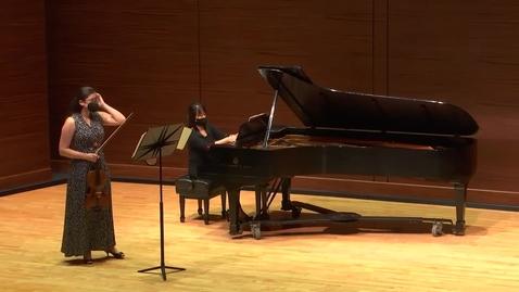 Thumbnail for entry Greenwood School of Music Faculty Recital-- Dr. Jackie Skara
