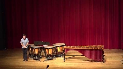 Thumbnail for entry Greenwood School of Music Senior Recital--Dawson Leffingwell