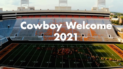 Thumbnail for entry Cowboy Welcome 2021