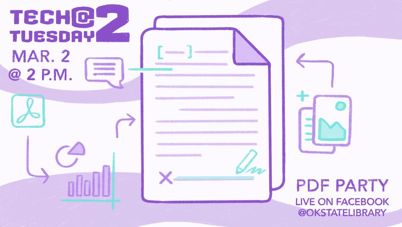 Tech Tuesday @ 2 PDF Party