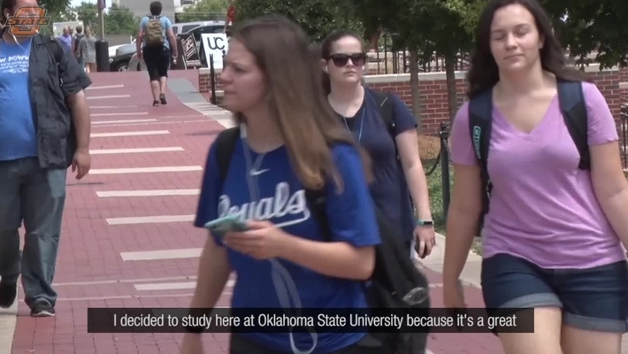 Chinese Students Get a Wonderful Experience at OSU