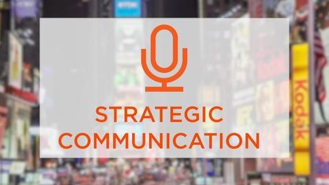 Thumbnail for entry CAS Major Profile: Strategic Communication