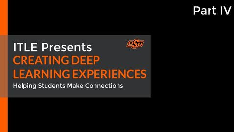 Thumbnail for entry Creating Deep Learning Experiences Part IV: A Peek Behind the Curtain