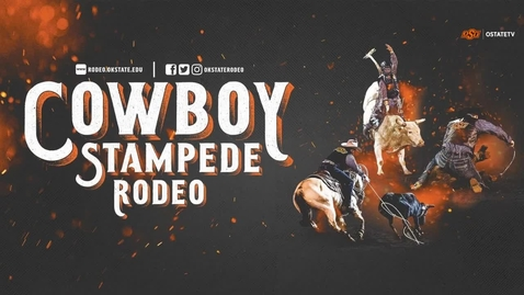 Thumbnail for entry REBROADCAST:    Cowboy Stampede Rodeo --Friday 4/2 Evening Performance