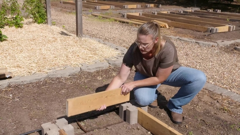 Thumbnail for entry DIY Raised Beds with Planter Wall Blocks