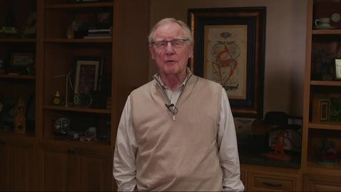 Thumbnail for entry Oklahoma State University President Burns Hargis Message Regarding COVID 19