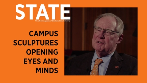 Thumbnail for entry STATE Magazine:  Campus Sculptures Opening Eyes and Minds