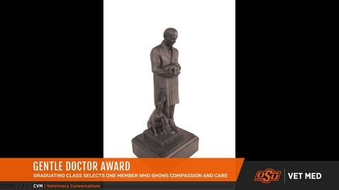 Thumbnail for entry Dr. Bradway Receives Gentle Doctor Award