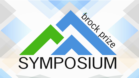 Thumbnail for entry 2019 Brock Prize Syposium