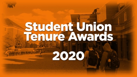 Thumbnail for entry Student Union Tenure Awards 2020