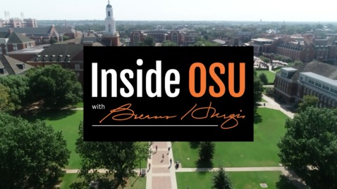 Thumbnail for entry Inside OSU with Burns Hargis:  Athletic Director Mike Holder