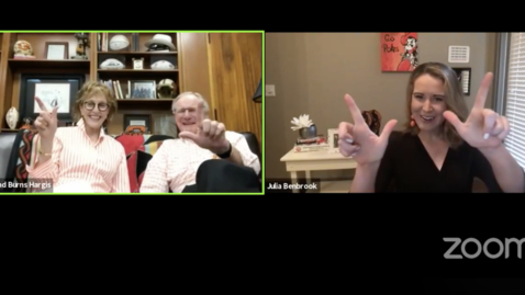 Thumbnail for entry REPLAY: Friday with the Family with Burns and Ann Hargis