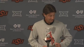 Thumbnail for entry ICYMI: Mike Gundy Discusses Striping the Stadium