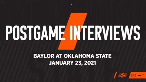 Thumbnail for entry BASKETBALL: Coach Boynton and Players Speak to the Media