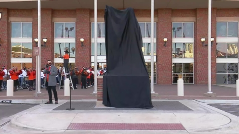 Thumbnail for entry WATCH:  Boone Pickens Statue Unveiling Ceremony