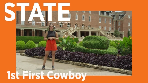 Thumbnail for entry STATE Magazine:  1st First Cowboy