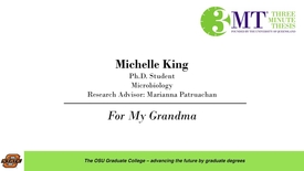 Thumbnail for entry 2018 3 Minute Thesis Finals: Michelle King