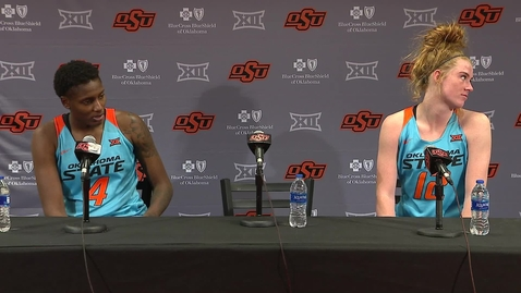 Thumbnail for entry Cowgirl Basketball: Rice Postgame