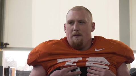 Thumbnail for entry Spring Football Practice: Johnny Wilson