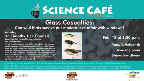 Thumbnail for entry Science Cafe presents Glass Casualties