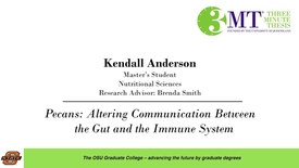 Thumbnail for entry 2018 3 Minute Thesis Finals: Kendall Anderson