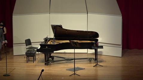Thumbnail for entry Greenwood School of Music Graduate Recital--Hunter Poe