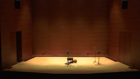 Thumbnail for entry REBROADCAST:  Greenwood School of Music Faculty Recital--Dr. Ryan Robinson