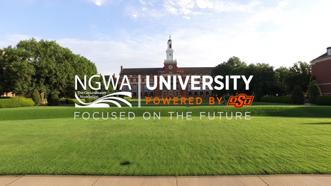 Thumbnail for entry OSU, National Groundwater Association collaborate to create training program