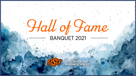 Thumbnail for entry 2021 College of Education and Human Sciences Alumni Awards Ceremony