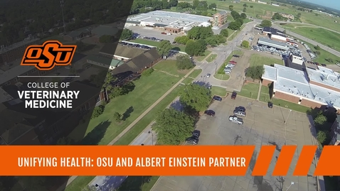 Thumbnail for entry Unifying Health: OSU Veterinary College and Einstein College of Medicine Partner