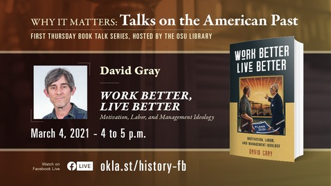 Thumbnail for entry Why It Matters: Talks on the American Past featuring David Gray