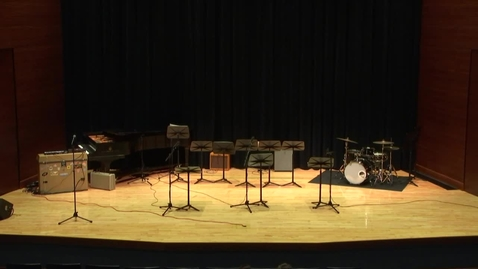 Thumbnail for entry Greenwood School of Music Jazz Combo Concert Part 1